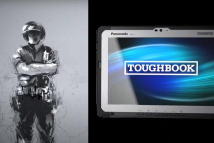 Tabletem Panasonic Toughbook A3 możesz rzucać o ścianę. I zniszczysz ścianę 19