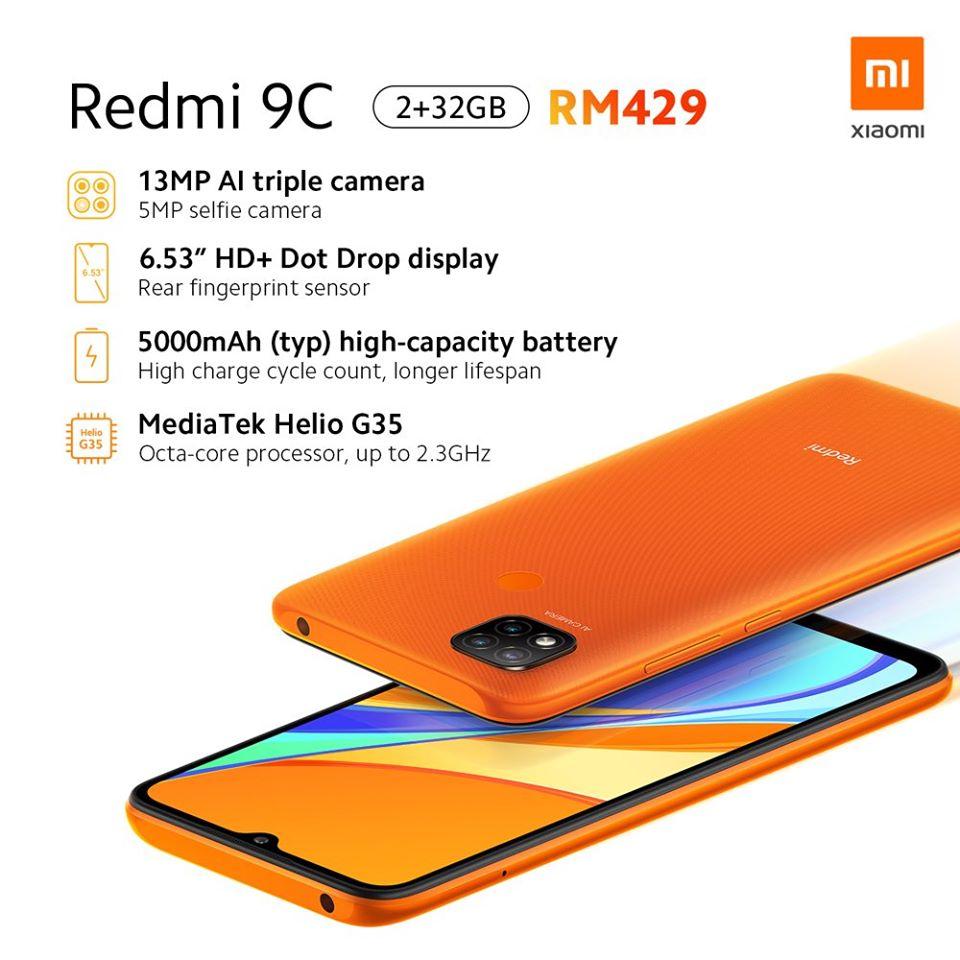 Redmi 9C smartphone