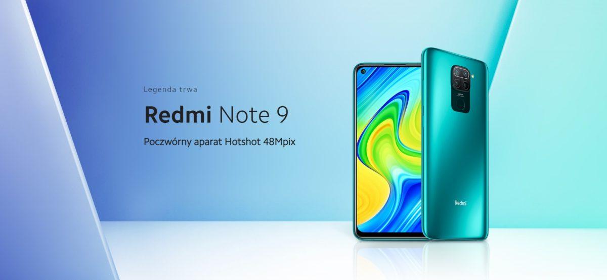 Redmi Note 9 smartphone