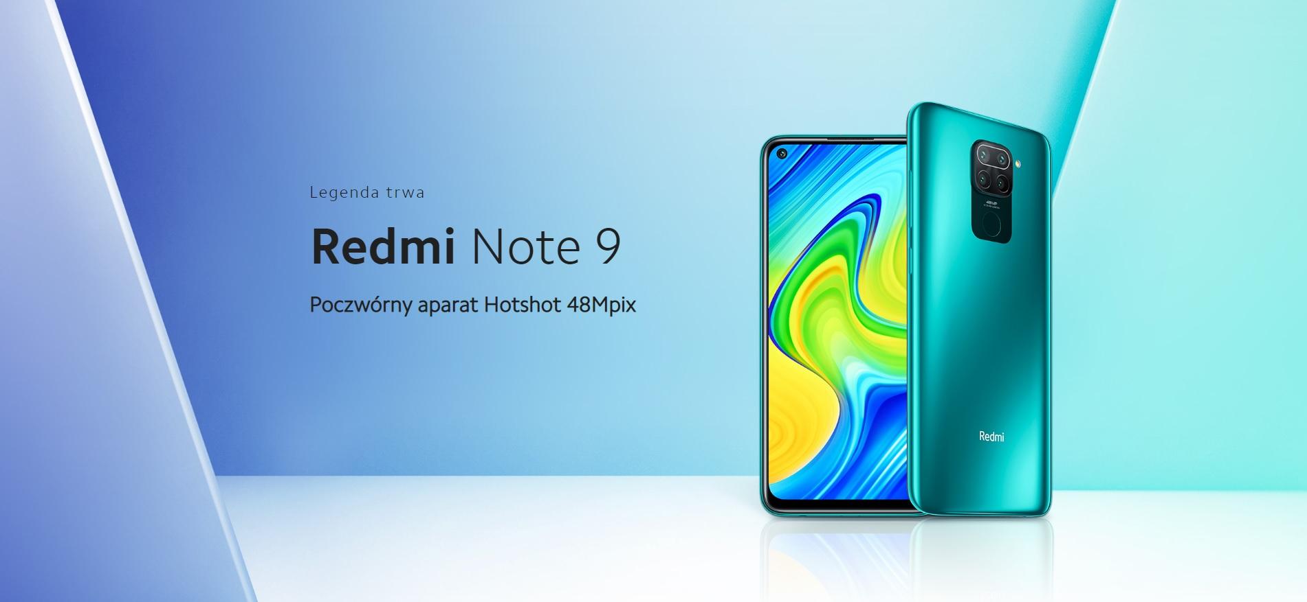 promocja na Redmi Note 9