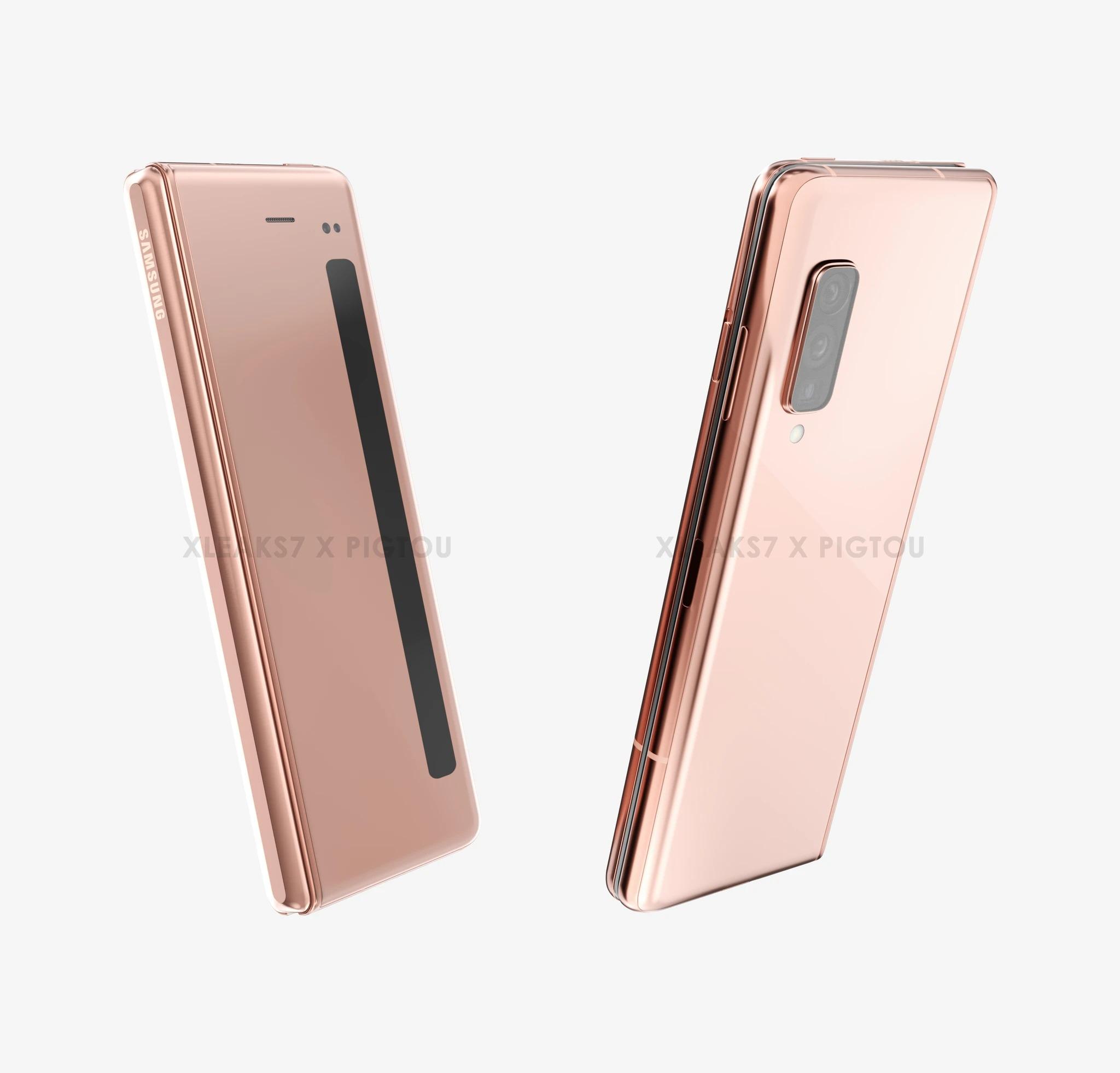 Tak może wyglądać Samsung Galaxy Z Fold Lite