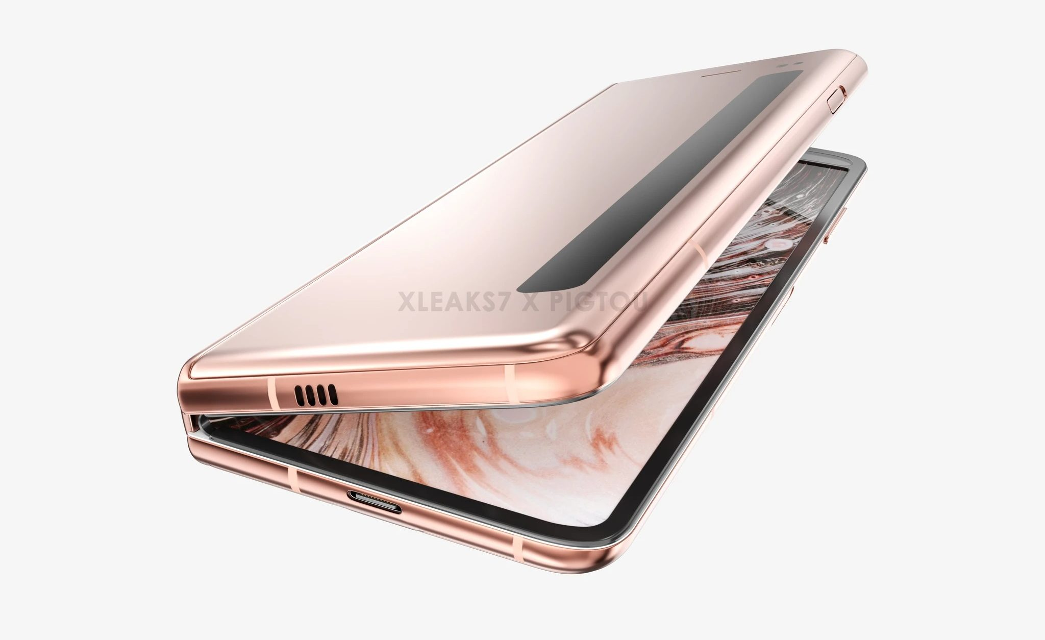 Proszę, nie. Lepiej, żeby Samsung nie skorzystał z tego pomysłu na Galaxy Fold 2 17 Galaxy Fold