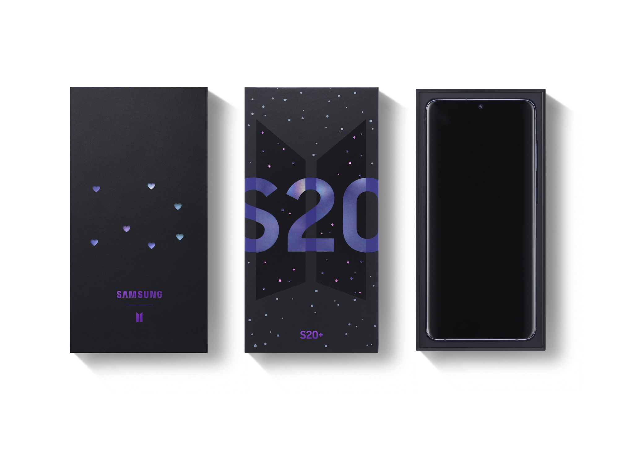 Samsung Galaxy S20+ BTS Edition smartphone