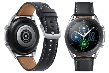 Samsung Galaxy Watch 3 smartwatch
