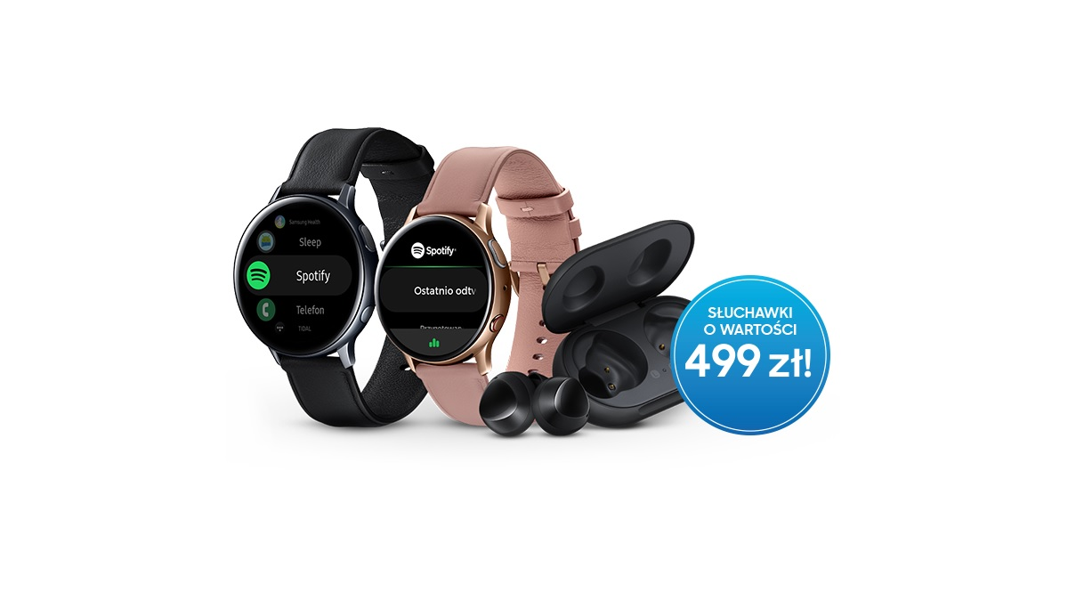 Samsung Galaxy Watch Active 2 Galaxy Buds promotion offer