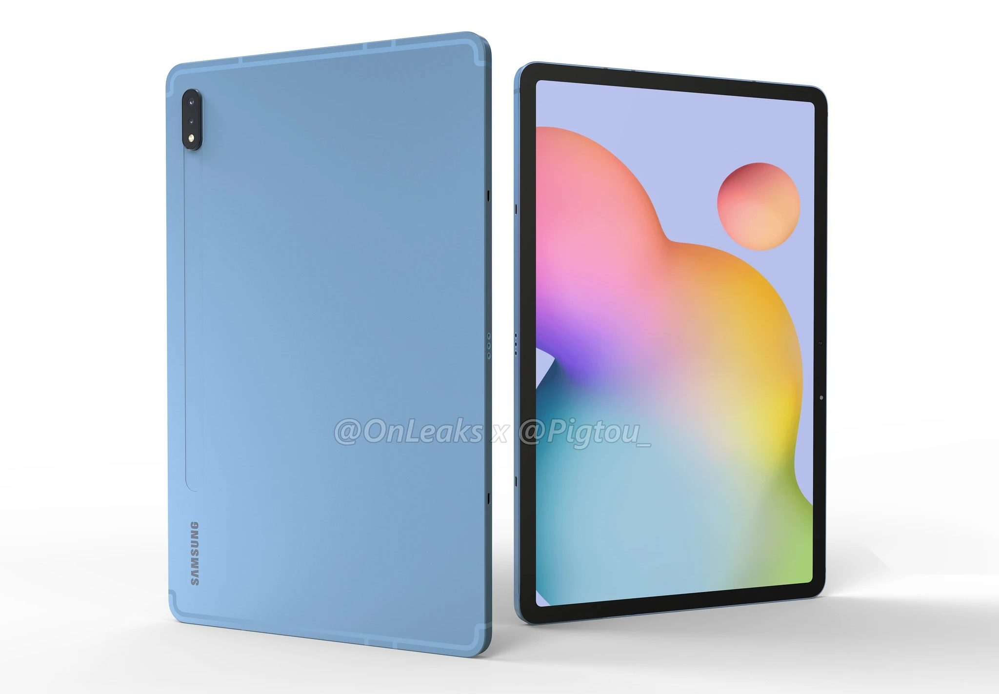 Taki będzie Samsung Galaxy Tab S7 18