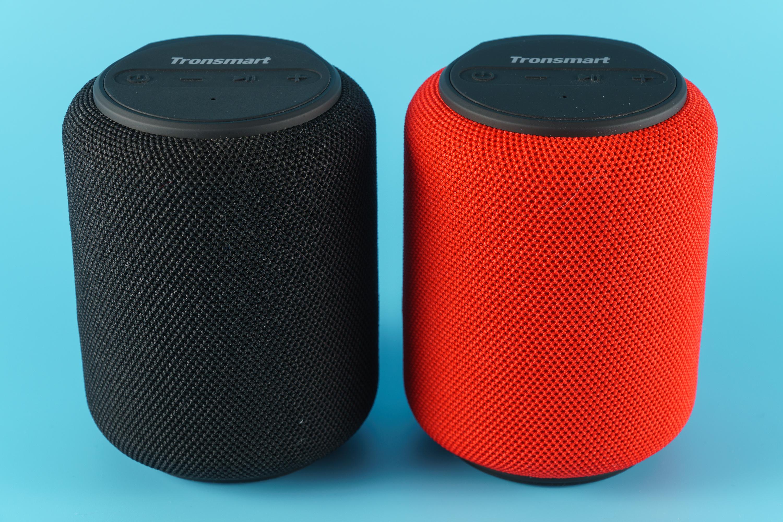 Para głośników T6 Mini - czarny i czerwony