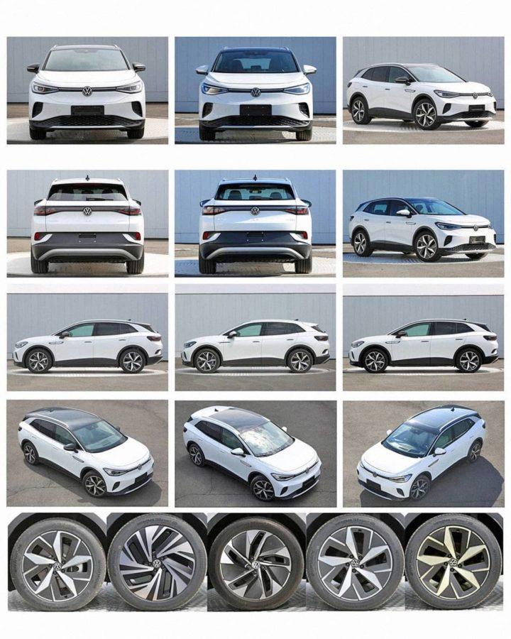 Volkswagen ID.4 – elektryczny SUV na nowych zdjęciach