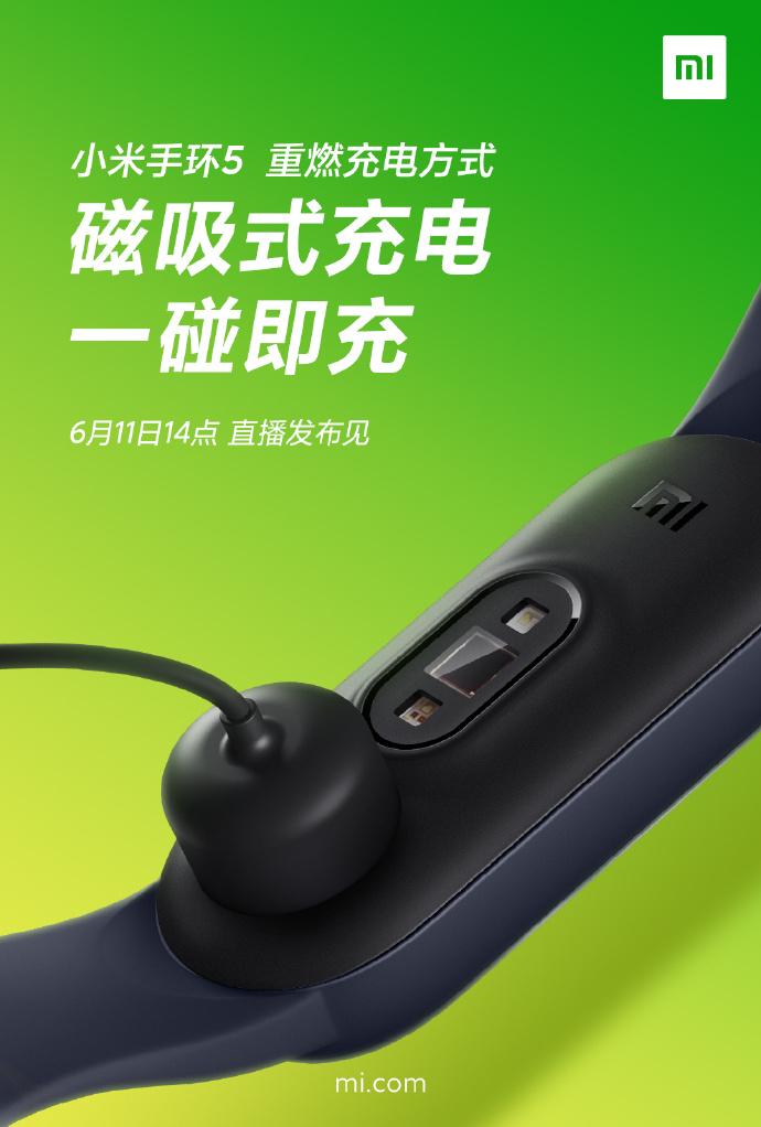 Xiaomi ujawnia 7 kluczowych cech Mi Band 5