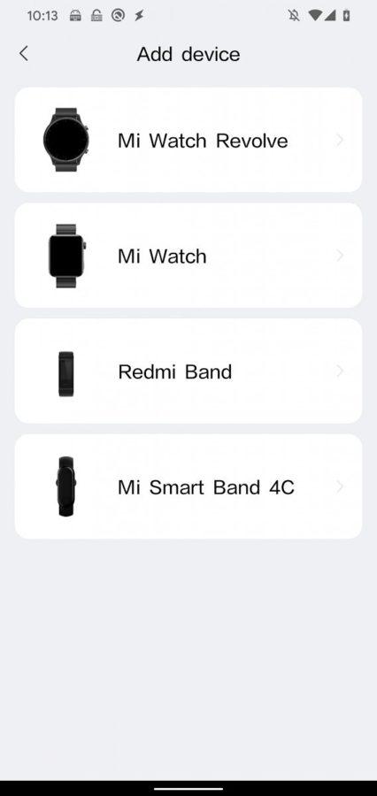 Xiaomi Mi Watch Revolve Mi Watch app