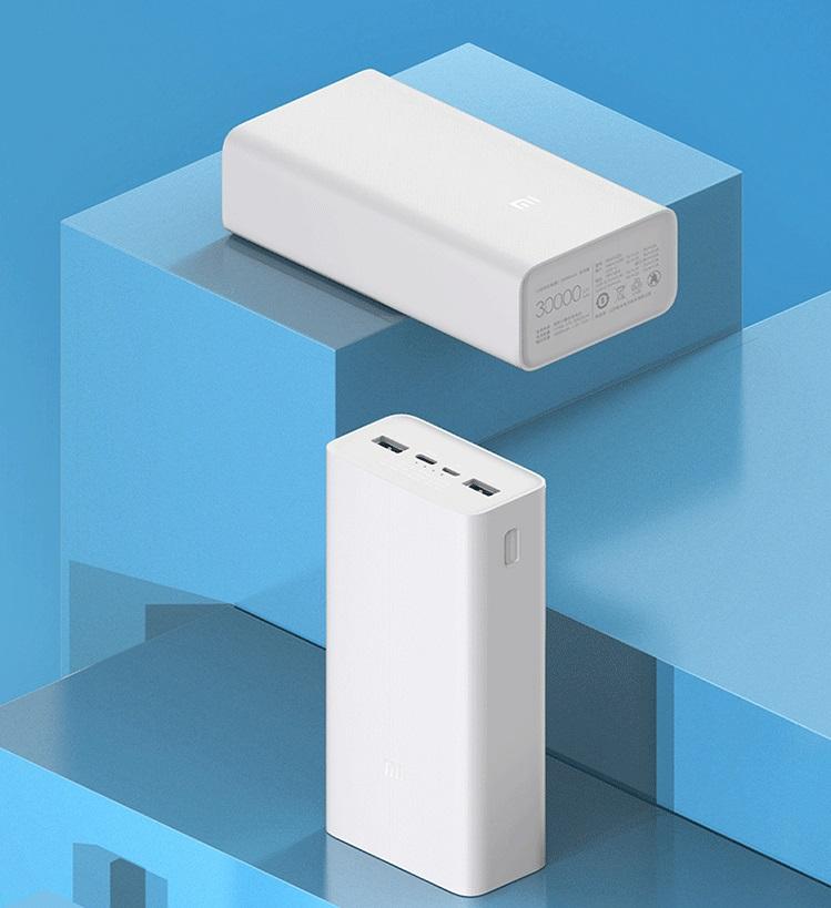 Xiaomi Mi Power Bank 3 30000 mAh 18 W charging