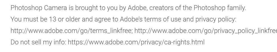 Adobe Photoshop Camera już na smartfonach. Musisz mieć przynajmniej 13 lat, żeby korzystać