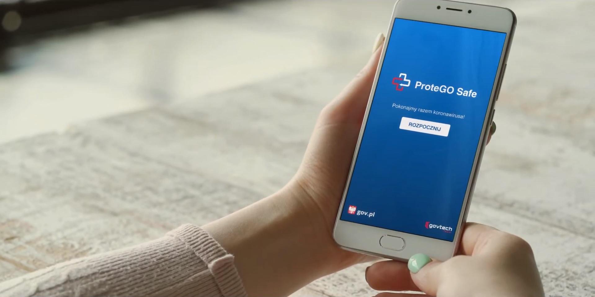 ProteGO Safe app