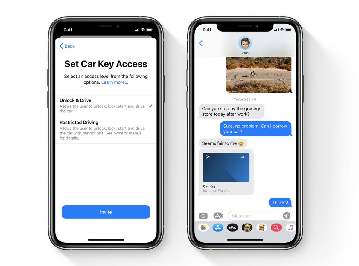 Aplikacja BMW Connected już gotowa na cyfrowy kluczyk Apple 19 BMW Connected