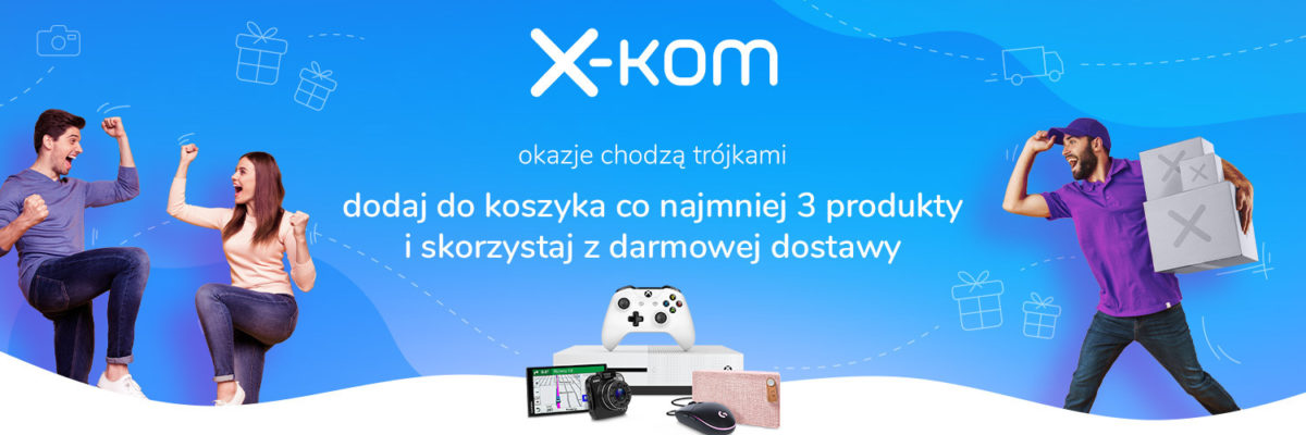 Promocja na sprzęty w działach Smart Home i gaming w x-kom w sam raz na Dzień Ojca 20 promocja