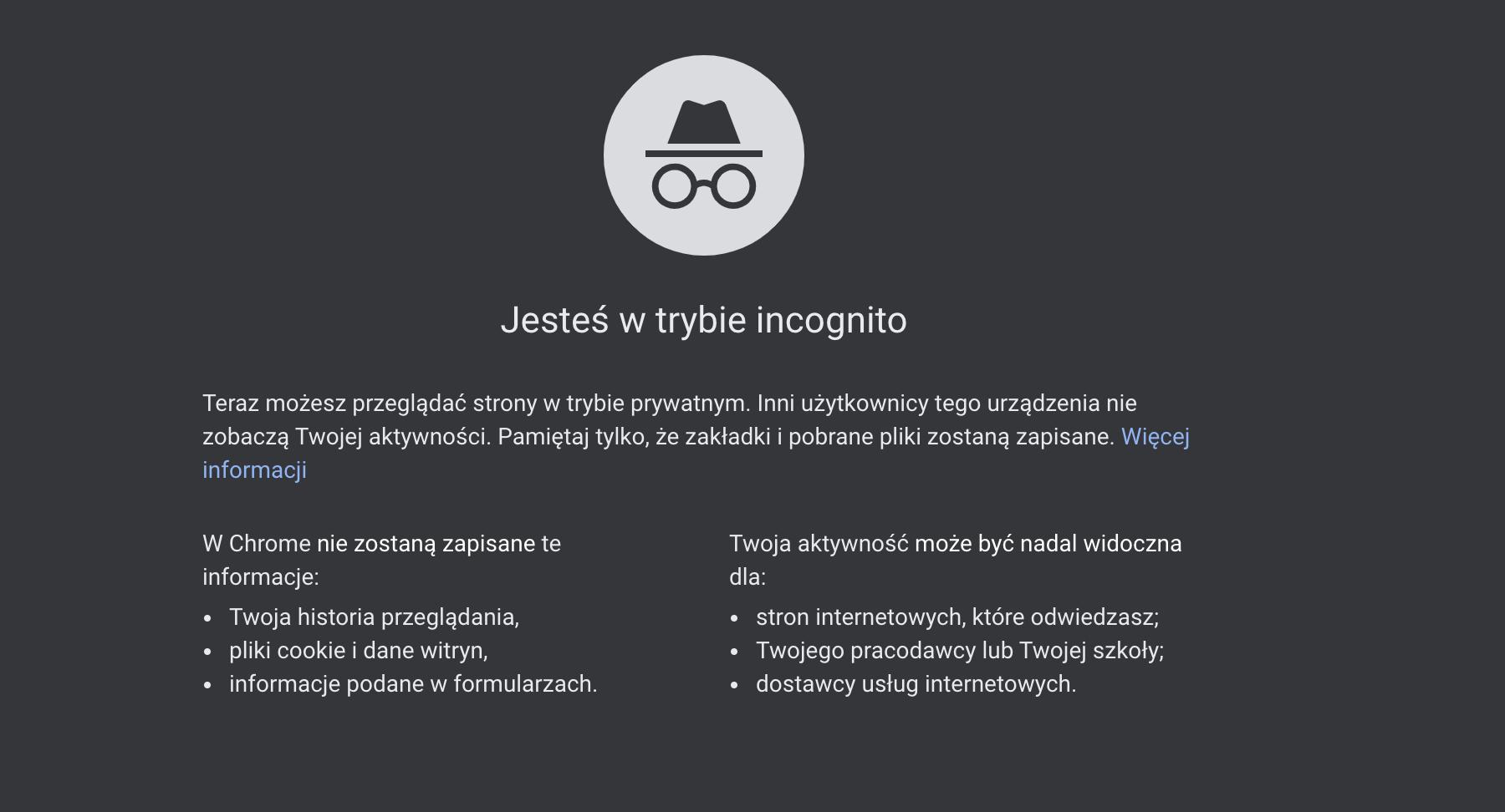 Tryb incognito w Chrome nieskuteczny? Google pozwane za zbieranie danych