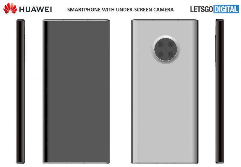 Prawie żadnych przycisków fizycznych i aparat pod ekranem. To przyszłość smartfonów Huawei 20