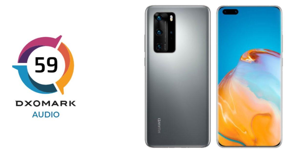 Huawei P40 Pro Dxo