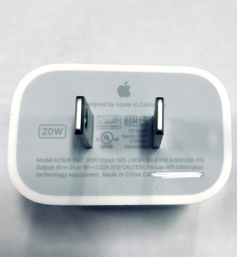 iPhone 12 charger 20 W