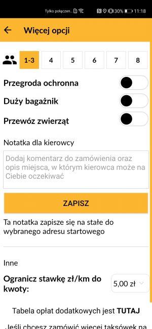 Nareszcie jakaś działająca aplikacja do zamawiania taksówek na nowe smartfony Huawei 28
