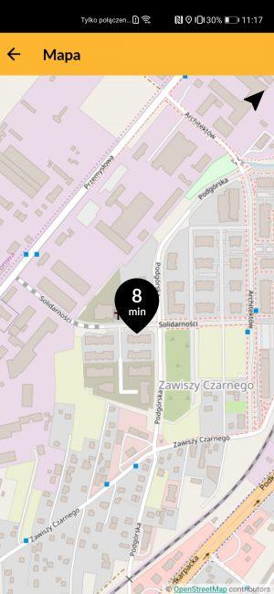 Nareszcie jakaś działająca aplikacja do zamawiania taksówek na nowe smartfony Huawei 23