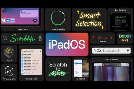 Nowości w iPadOS 14 - system lepiej wykorzysta miejsce na ekranie 19