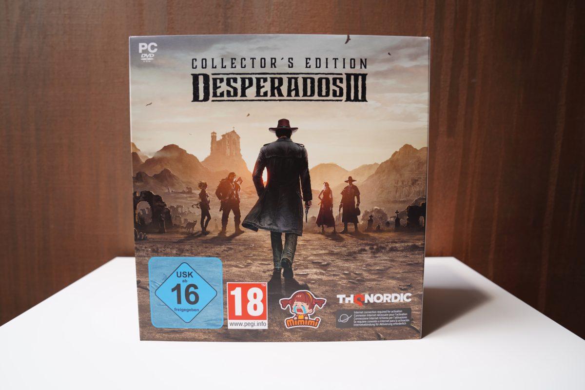 Desperados III - unboxing edycji kolekcjonerskiej 20