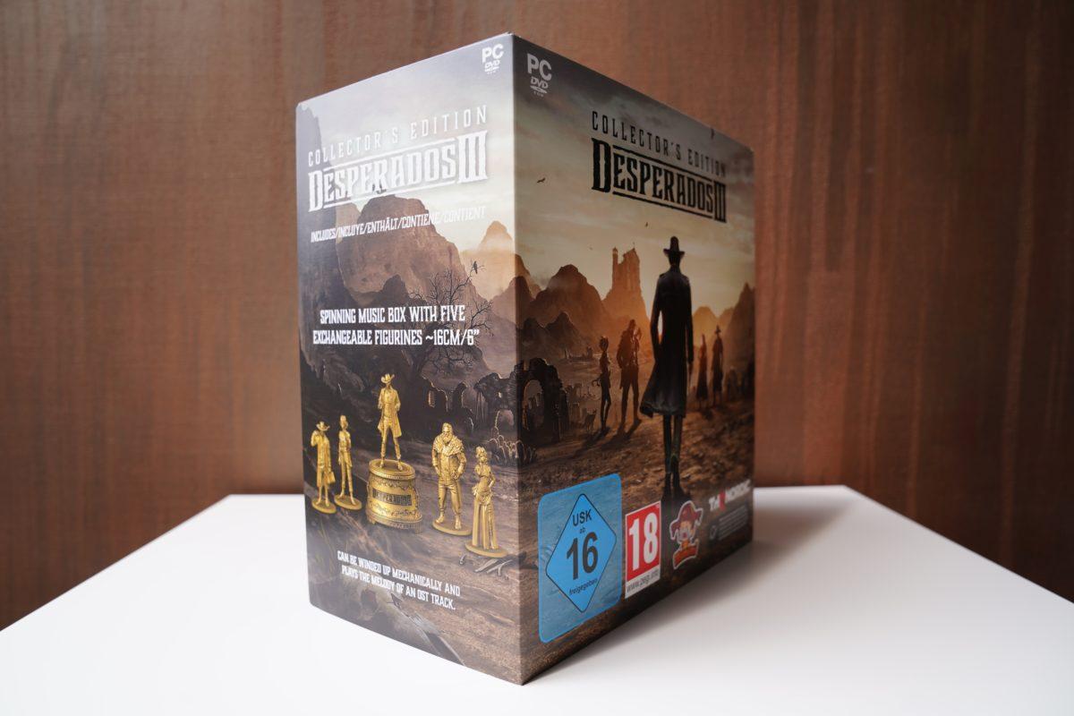 Desperados III - unboxing edycji kolekcjonerskiej 21