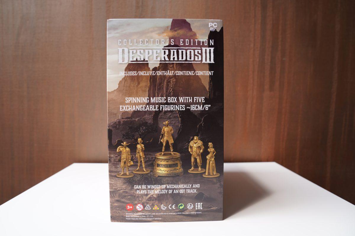 Desperados III - unboxing edycji kolekcjonerskiej 25