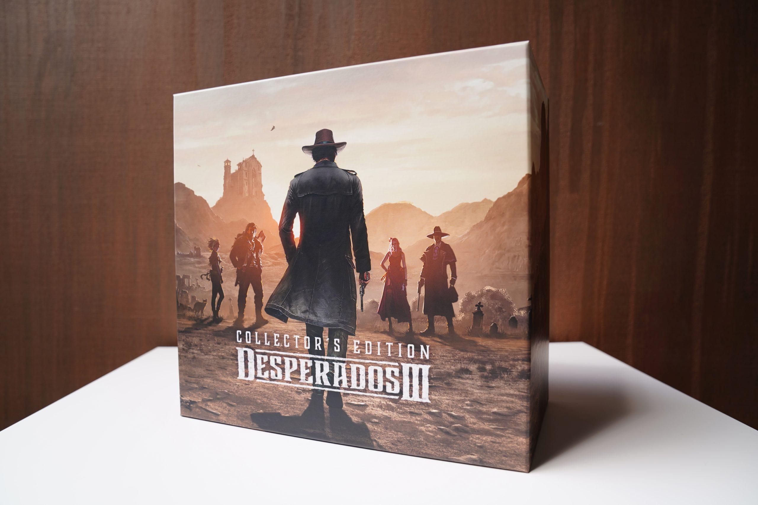 Desperados III - unboxing edycji kolekcjonerskiej 18