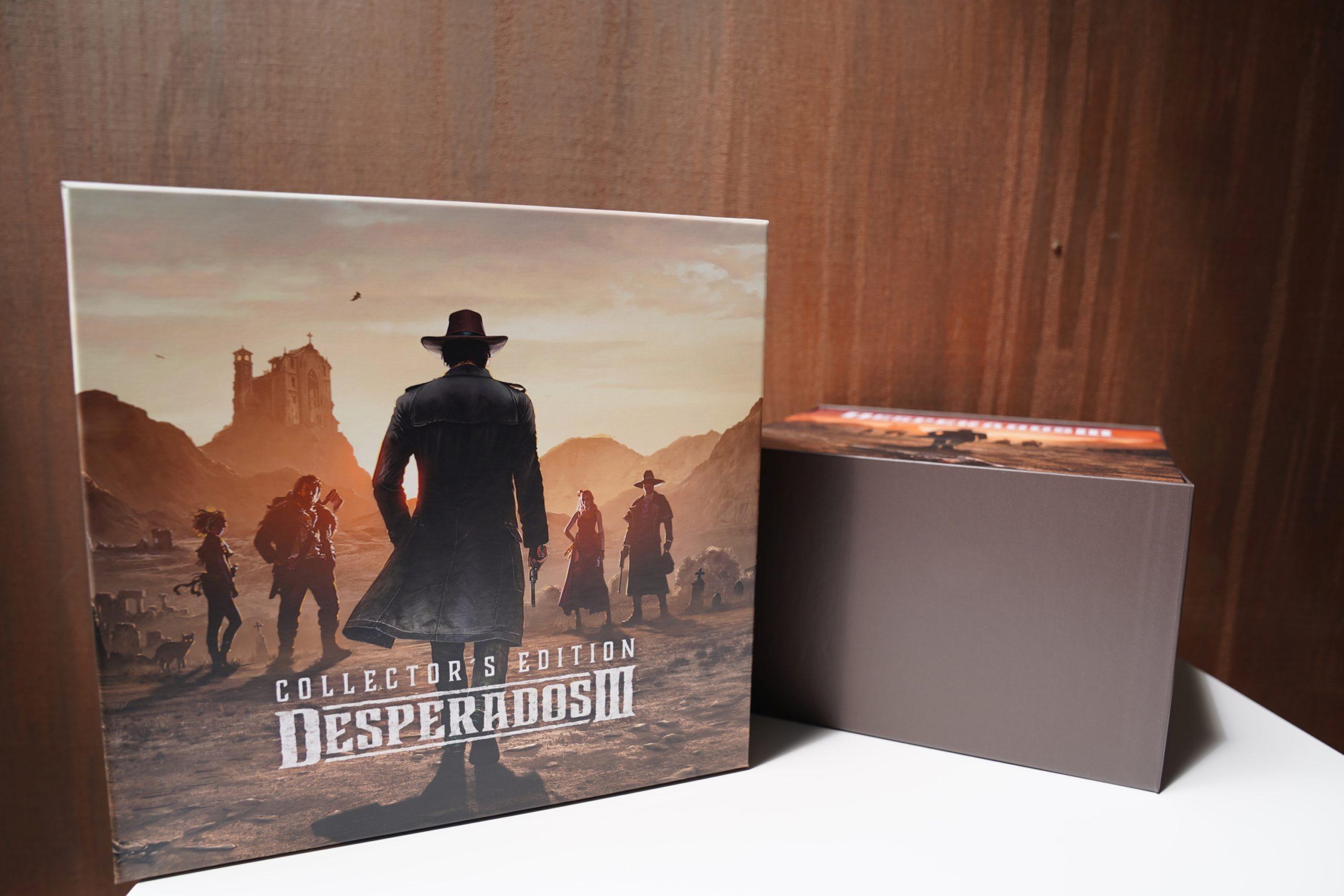 Desperados III - unboxing edycji kolekcjonerskiej 27