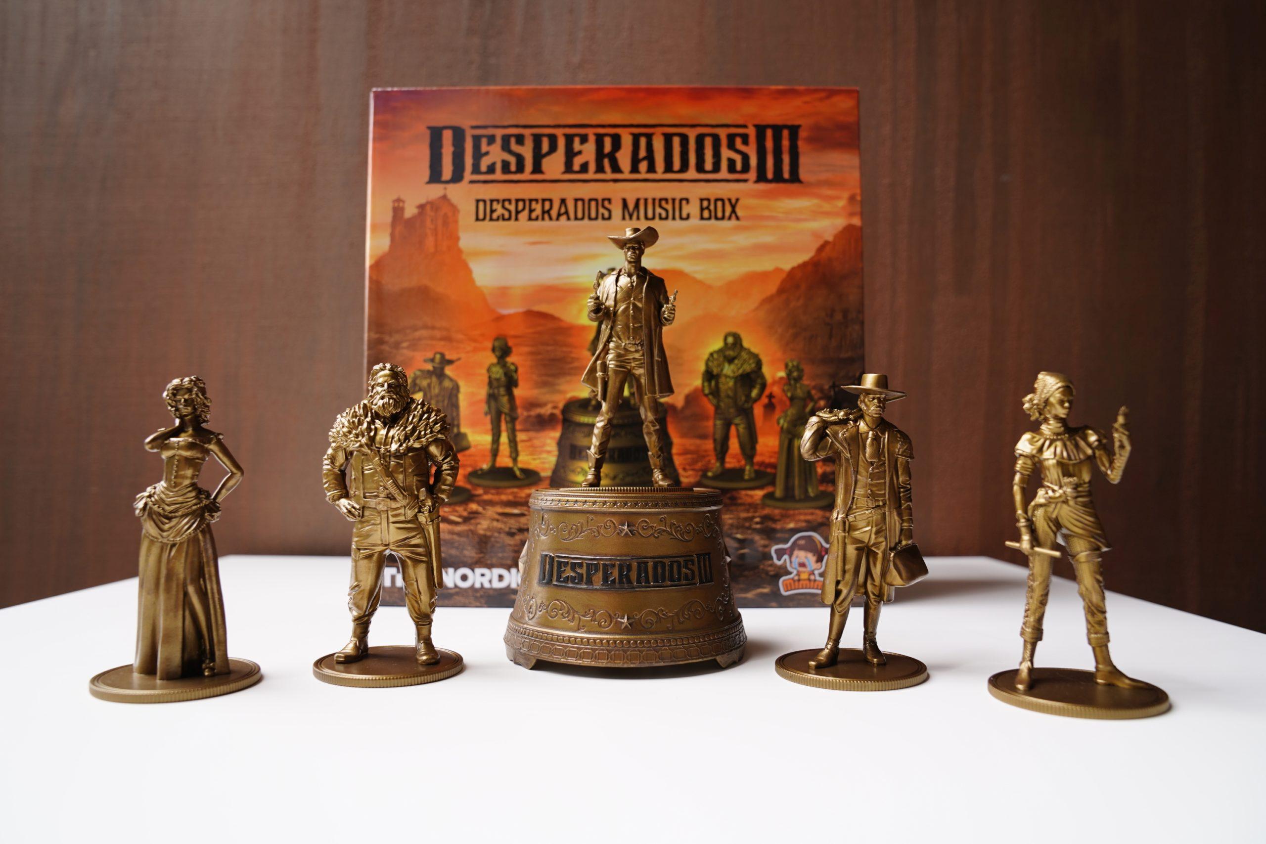 Desperados III - unboxing edycji kolekcjonerskiej 34
