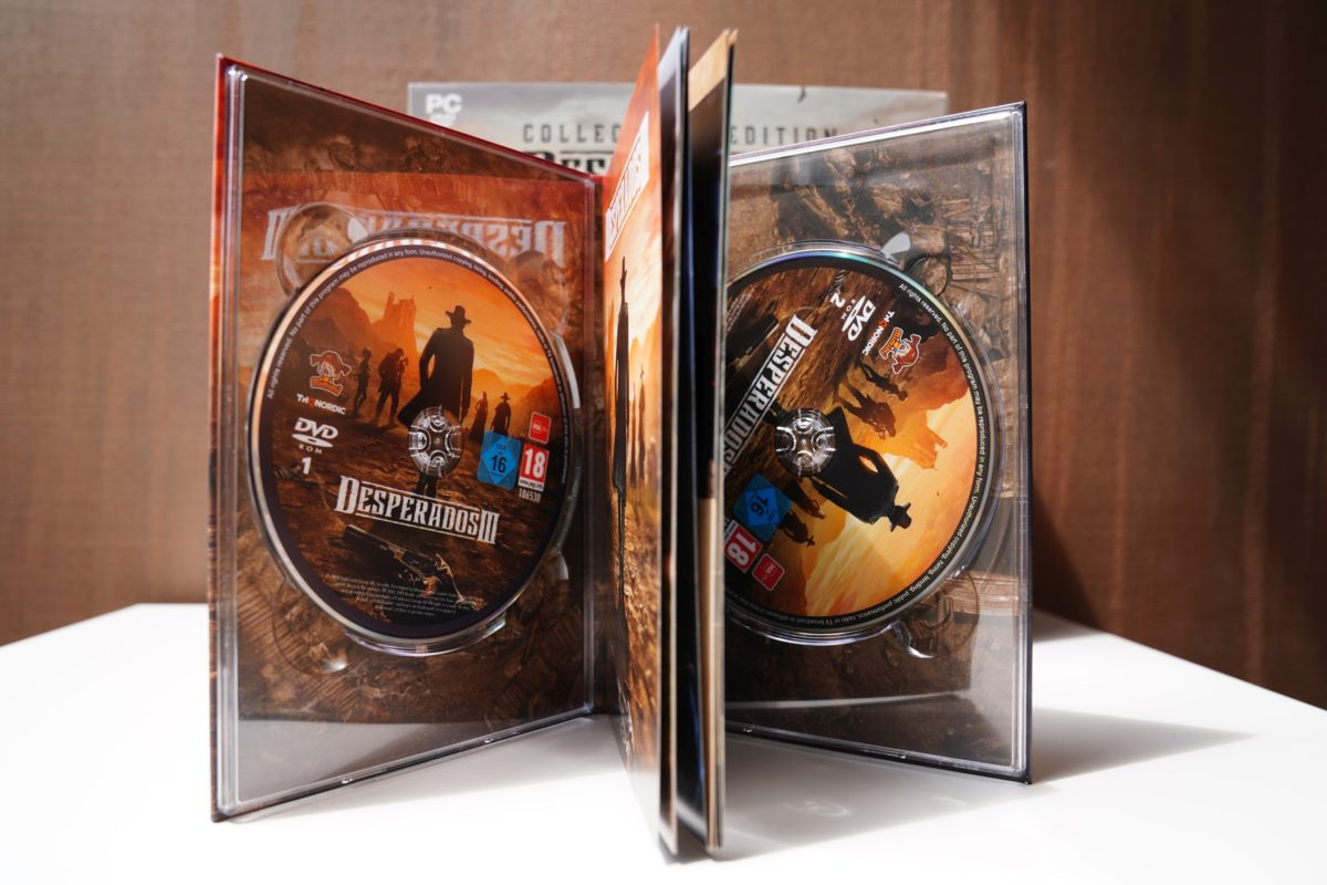 Desperados III - unboxing edycji kolekcjonerskiej 45