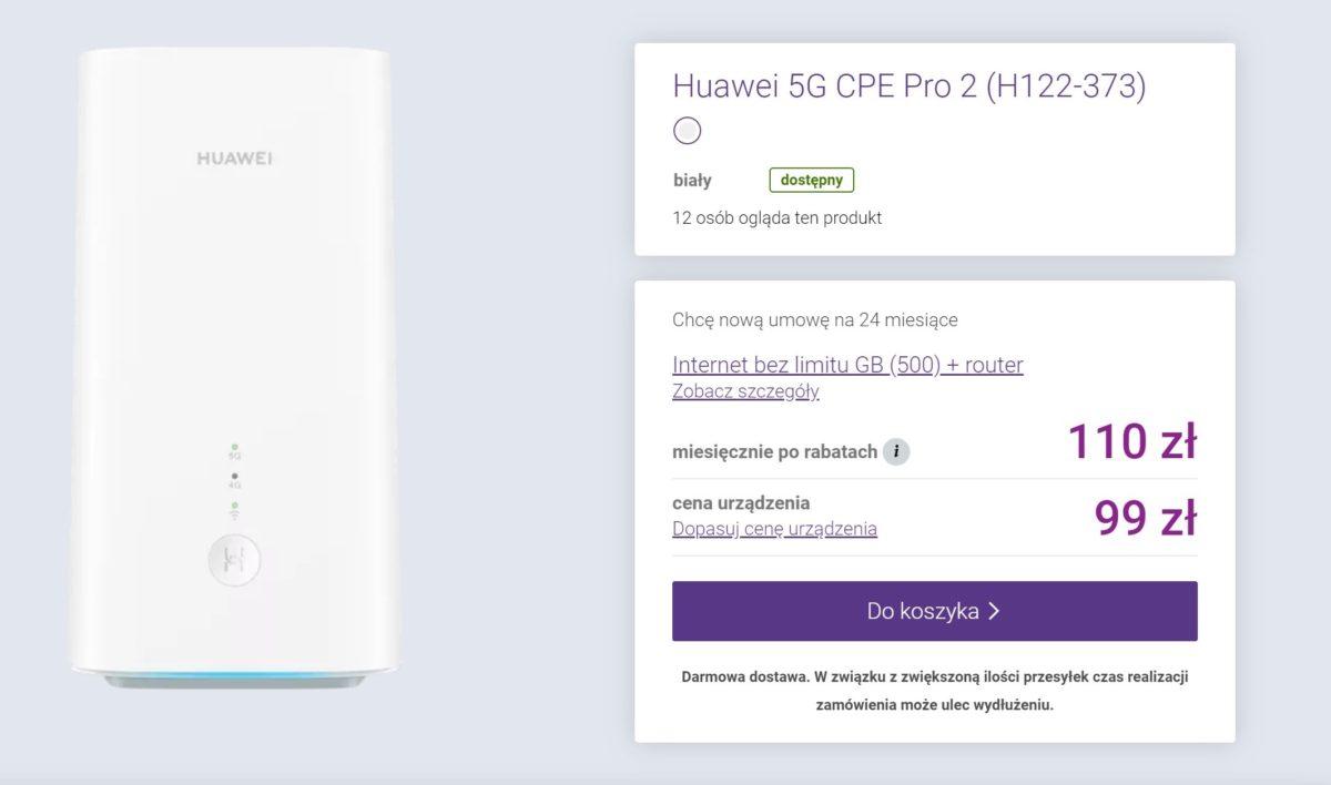 Play ma nową ofertę internetu mobilnego - 500 GB wraz z routerem 5G 18 Play