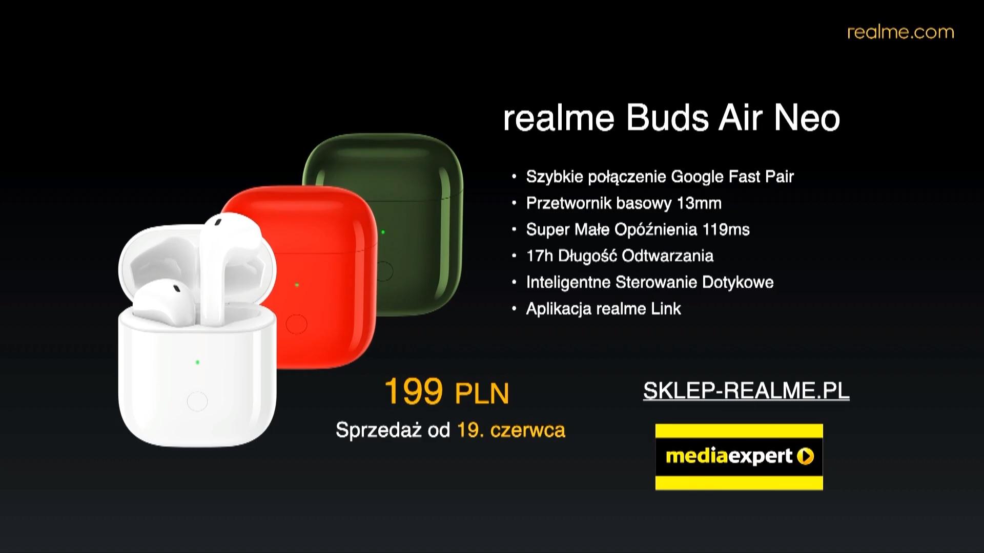 realme Buds Air Neo price Poland