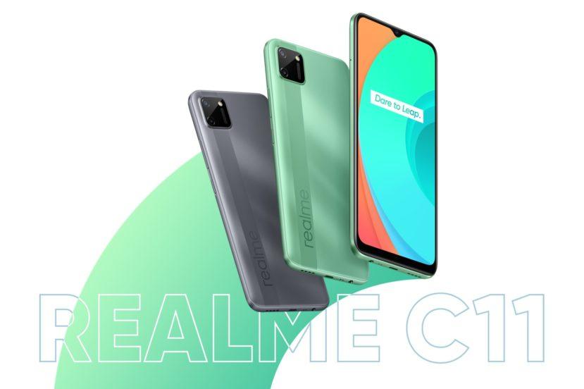 realme C11 smartphone