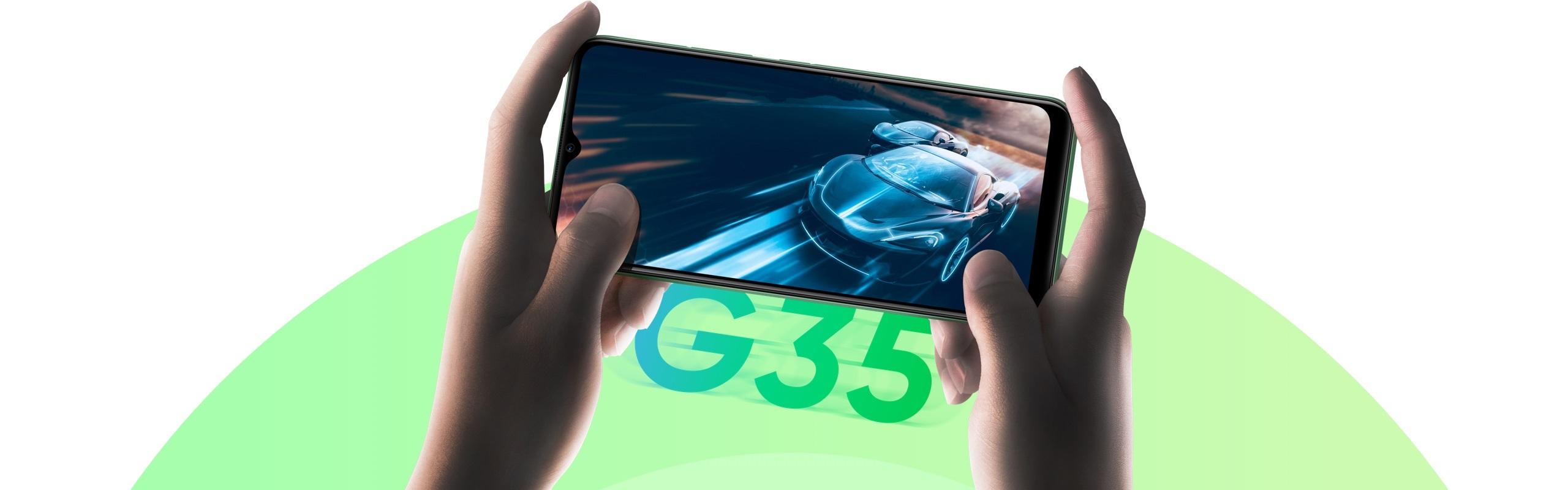 realme C11 smartphone MediaTek Helio G35