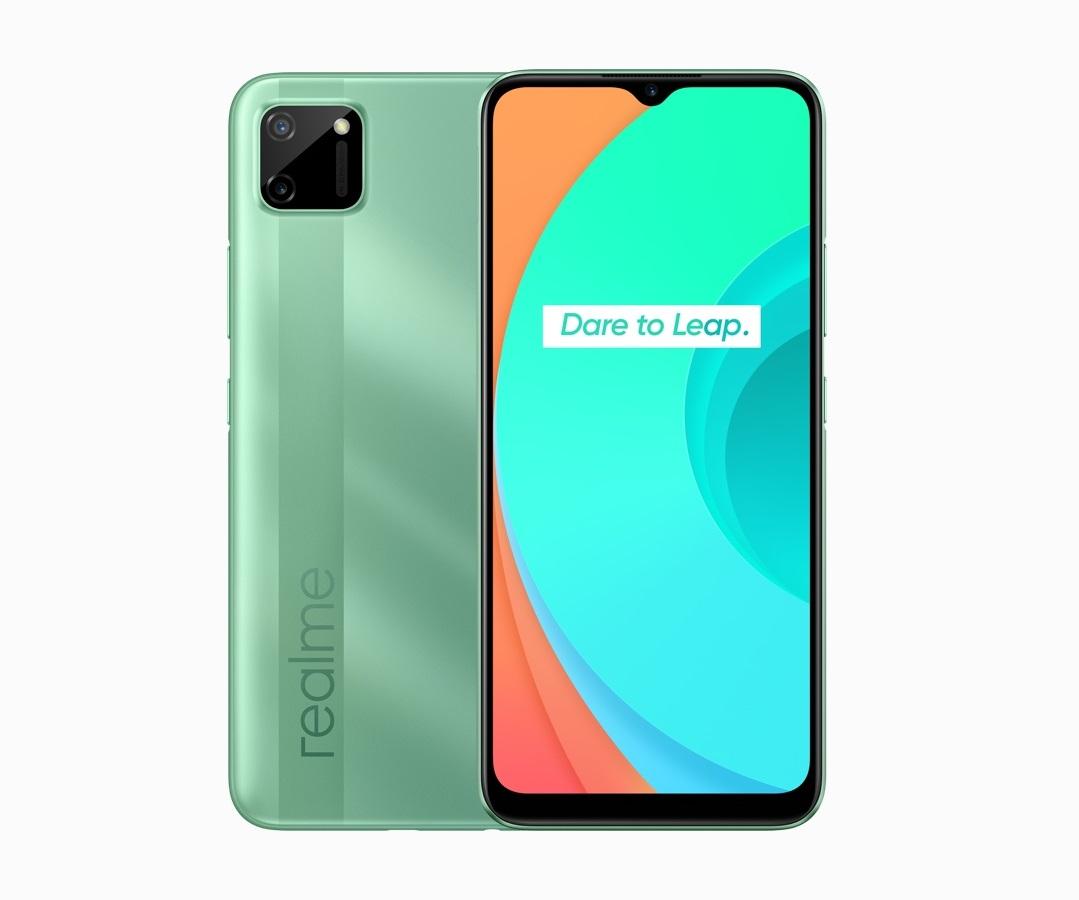 realme C11 Mint Green smartphone