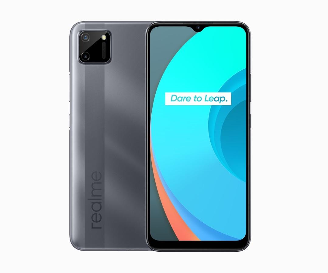 realme C11 Pepper Grey smartphone