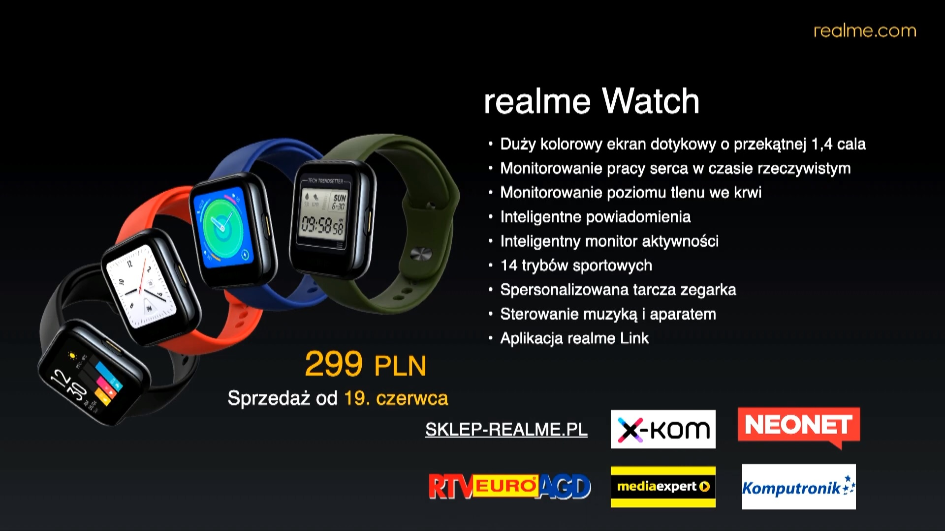 realme Watch price Poland