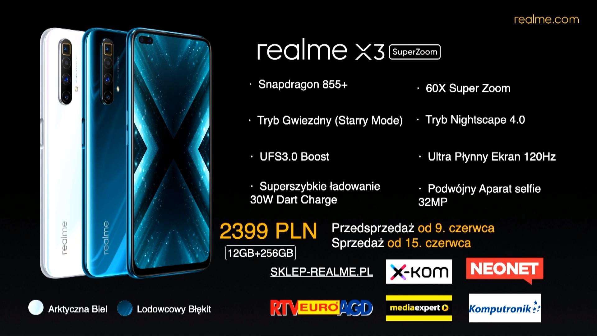 realme X3 SuperZoom price Poland