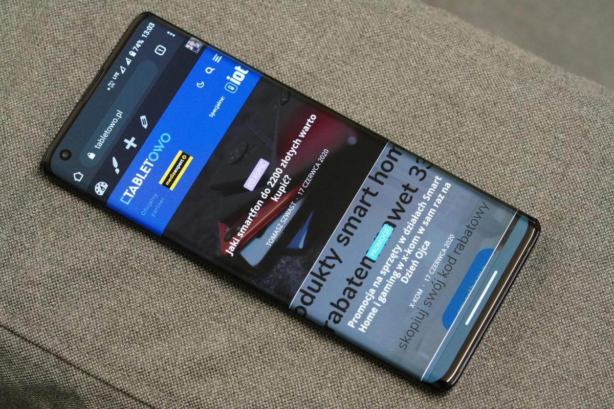Motorola Edge - recenzja nieziemskiego smartfona 17