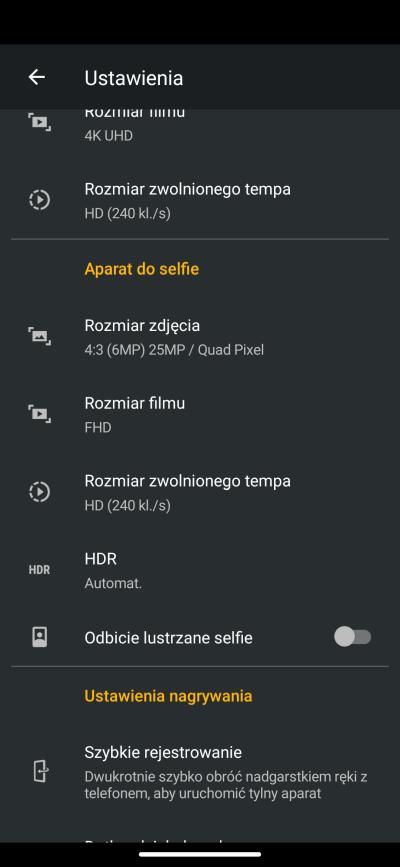 Motorola Edge - recenzja nieziemskiego smartfona 159