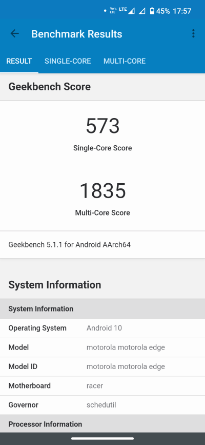 Motorola Edge - recenzja nieziemskiego smartfona 105