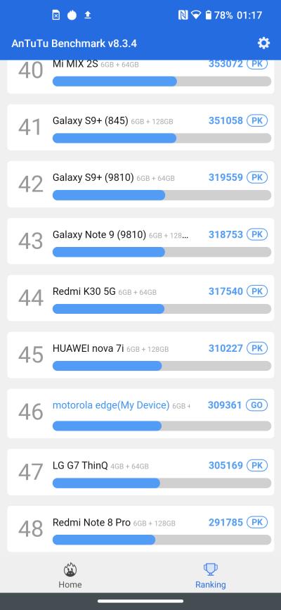 Motorola Edge - recenzja nieziemskiego smartfona 108