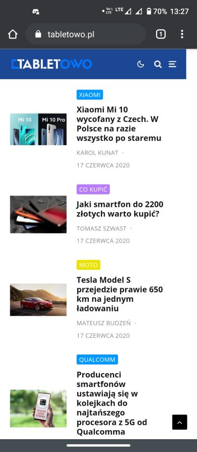 Motorola Edge - recenzja nieziemskiego smartfona 48