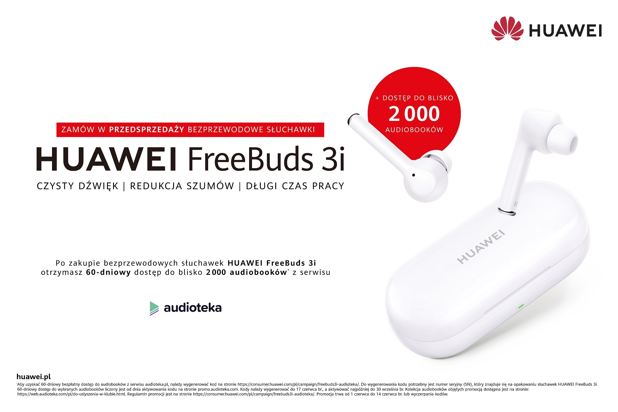 Huawei FreeBuds 3i TWS earbuds pre-order