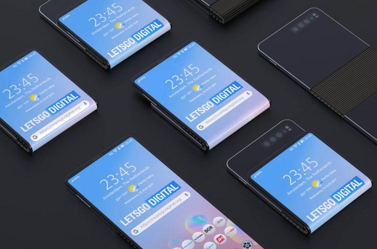"""To byłby prawdziwy Galaxy """"S"""". Samsung patentuje smartfon, który zgina się w dwóch miejscach"""
