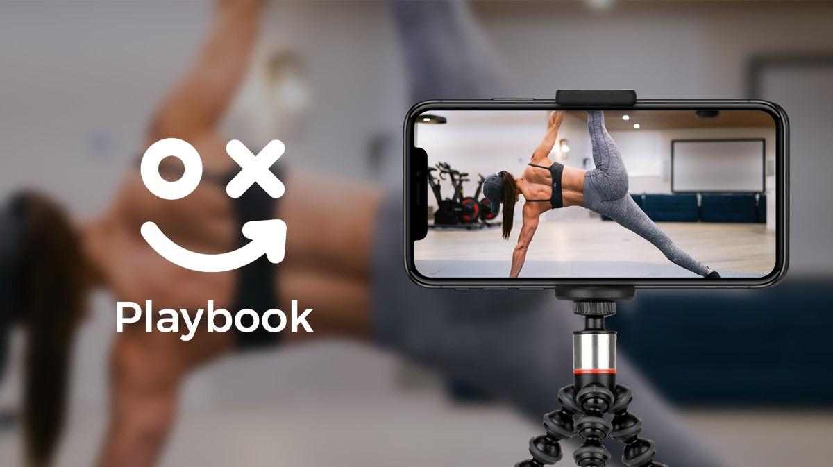 Playbook fitness app