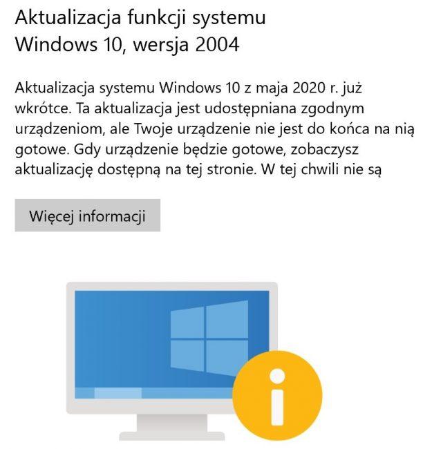 Microsoft blokuje majową aktualizację Windows 10. Zestaw zmian wciąż sprawia problemy